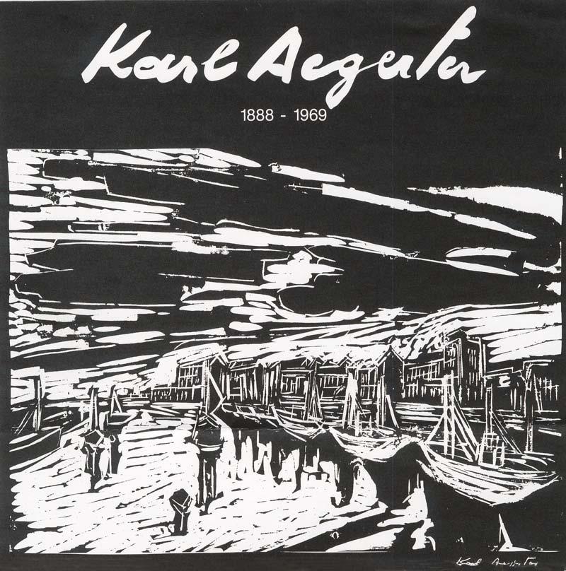 Sie sehen Bilder aus dem Artikel: Ausstellung 1996 - Karl Aegerter - Gestalter des Humanen