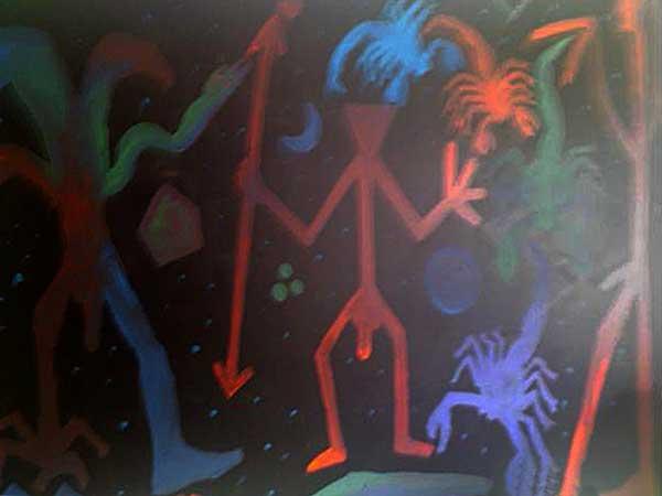 Sie sehen Bilder aus dem Artikel: A.R. Penck 09.01.1995